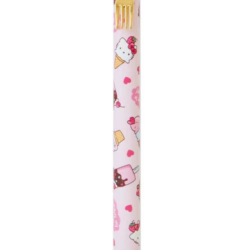 【震撼精品百貨】Hello Kitty 凱蒂貓~裝扮甜點自動鉛筆(甜筒)