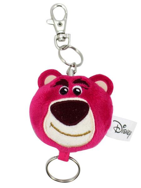 【卡漫城】 熊抱哥 絨毛 易拉扣 ㊣版 伸縮證件帶 鑰匙圈 證件套 Lotso 玩具總動員 扣環 吊飾