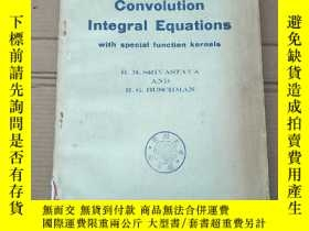 二手書博民逛書店convolution罕見integral equations(P2092)Y173412