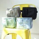 ♚MY COLOR♚ 雙邊袋棉麻收納盒 辦公 風格 居家 裝飾 可折疊 環保 布藝 簡約 可愛【N265】