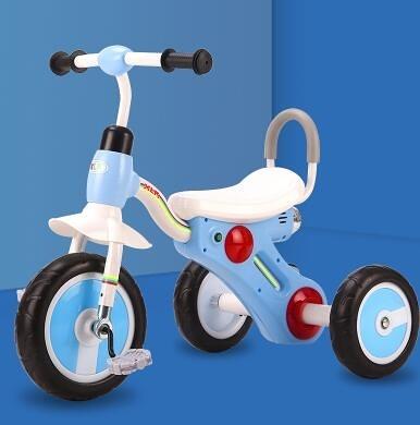 兒童三輪車 兒童三輪車腳踏車蹬3到6歲寶寶幼兒玩具輕便大號女男【快速出貨八折搶購】