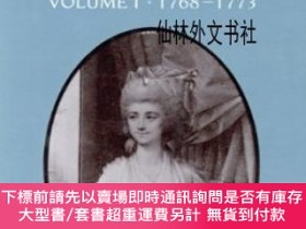 二手書博民逛書店【罕見】The Early Journals And Letters Of Fanny Burney Vol. 1