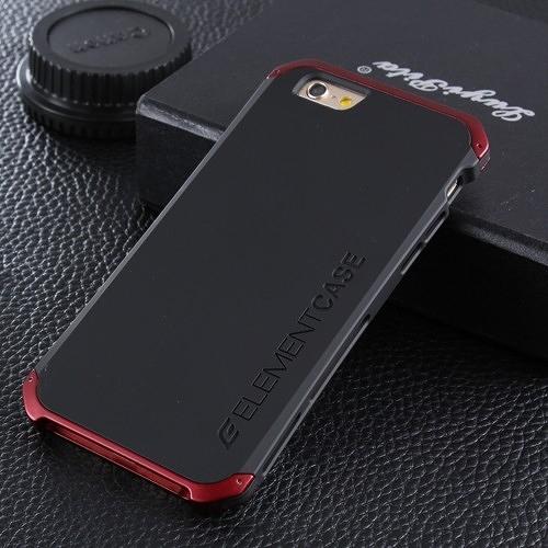 蘋果 6 / 6s 金屬手機殼 SOLACE TPU 金屬邊框 個性創意保護套