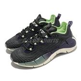 Reebok 慢跑鞋 Zig Kinetica II 黑 綠 多功能 鋸齒中底 女鞋 運動鞋【ACS】 FX9405