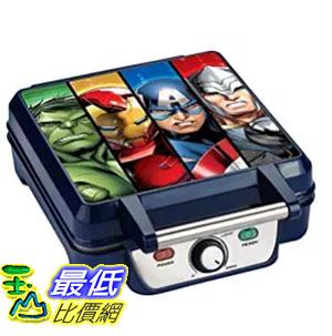 [美國直購] Marvel MVA-281 復仇者聯盟 鬆餅機 Avengers Waffle Maker, Blue