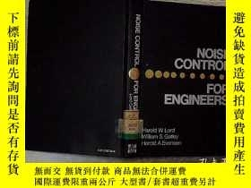 二手書博民逛書店NOISE罕見CONTROL FOR ENGINEERSY203