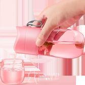 保溫杯-玻璃杯創意隨手杯過濾水杯便攜花茶杯子-韓先生