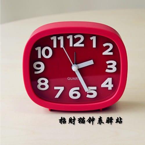 天天老人兒童學生創意可愛立體數字台式小鬧鐘台鐘【時尚家居館】