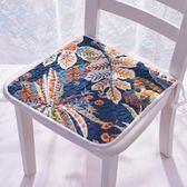 四季通用薄款椅墊防滑辦公坐墊學生凳墊電腦椅子墊冬季餐椅墊      LX 宜室家居