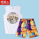 沙灘褲沙灘褲男套裝 海邊度假寬鬆速幹男士溫泉泳褲泰國三亞旅游衣服潮 衣櫥秘密