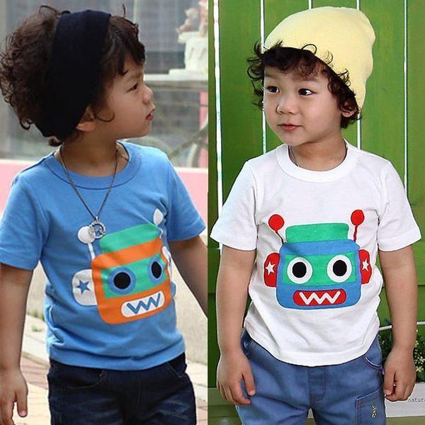 韓版《可愛機器人》百搭短袖上衣
