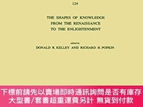 二手書博民逛書店The罕見Shapes Of Knowledge From The Renaissance To The Enli