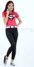 *阿亮單車* SPORTY司普堤 超女短袖機能車衣(桃紅色) C0757