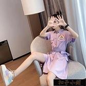 網紅連身褲女夏季薄款洋氣連身衣2021年新款休閒時尚直筒工裝【雙十一狂歡】