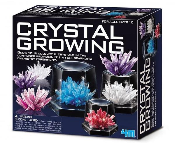 神奇水晶體豪華組Crystal Growing Experimental Kit 在家輕鬆養殖水晶體