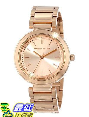 [美國直購 USAShop] 手錶 Kenneth Jay Lane Women s KJLANE-2013 Rose Dial Rose Gold Watch $8562