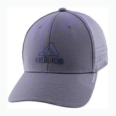 Adidas- 愛迪達男Gameday彈力版型結構帽(瑪瑙灰)