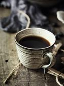 駝背雨奶奶日式陶瓷咖啡杯碟套裝家用杯子下午茶復古咖啡杯格雷 電購3C