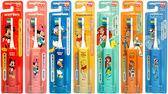 日本正版阿卡將米奇/米妮/小熊維尼/玩具總動員-胡迪/ 電動牙刷 兒童電動牙刷。日貨 (JP90008)