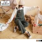 《KG0976-》高含棉多口袋寬鬆斜紋工裝吊帶褲 OB嚴選