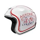 【東門城】ASTONE SPORSTER 381G K133 (白) 彩繪公雞 復古帽 3/4罩安全帽