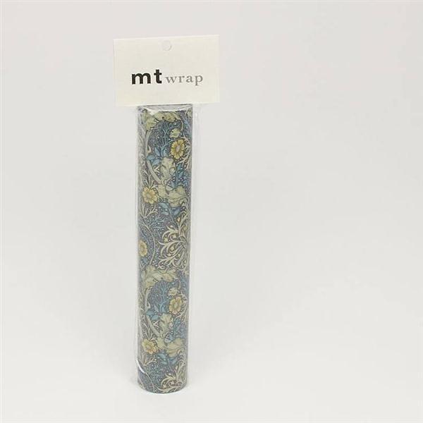 mt WRAP(標準補充包) ・William Morris Seaweed mt和紙自黏包裝紙【KAMOI mt】