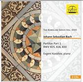 【停看聽音響唱片】【CD】柯洛里奧弗: 巴哈鋼琴組曲1,作品BWV825、826、830 (2CD)