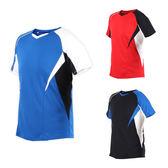 MIZUNO 男羽球短袖T恤 (免運 羽毛球 短袖上衣 訓練 路跑 慢跑 美津濃≡體院≡