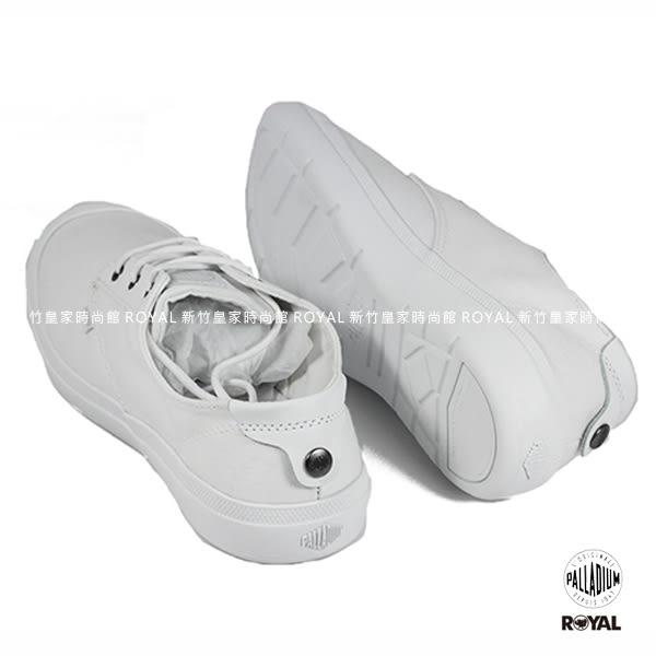 Palladium 新竹皇家 VOYAGE 旅行系列 白色 布質 低筒 休閒鞋 女款 NO.I7729