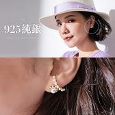 限量現貨◆PUFII-耳環 925銀針耳扣造型耳針式珍珠耳環- 0707 現+預 夏【CP18832】