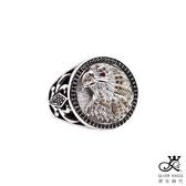 原生飾代SilverKings 英勇之心純銀戒指