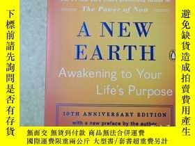 二手書博民逛書店A罕見NEW EARTHY414869 ECKHART TOLLE PENGUIN BOOKS 出版2016