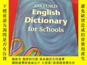 二手書博民逛書店OXFORD罕見English Dictionary for S