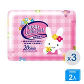 康乃馨寶寶潔膚濕巾超厚20片x3【兩入組】【愛買】
