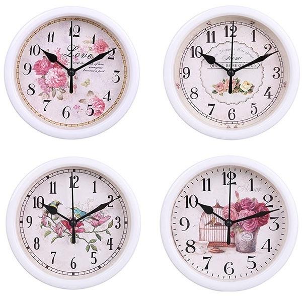 圓形時鐘 辦公家用 歐式古典浪漫掛鐘 時尚簡約 跳秒機芯掛鐘【SV6566】BO雜貨
