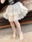 女童半身裙夏天童裝2020新款中童蕾絲公主裙子洋氣蛋糕裙兒童短裙 小天使