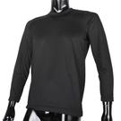 BURBERRY紳士透氣排汗休閒長袖上衣L(黑色)085206-2