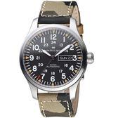Hamilton漢米爾頓卡其野戰系列迷彩時尚腕錶 H70535031