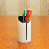 歐迪筆筒創意時尚商務小清新文具辦公用品收納盒擺件【免運 快速出貨】