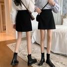 夏季2021年新款小個子高腰裙子半身裙早春女裝黑色A字包臀裙短裙 黛尼時尚精品