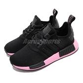 adidas 休閒鞋 NMD_R1 W 黑 粉紅 女鞋 boost 襪套式設計 運動鞋【ACS】 EF4272