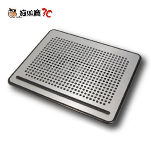 【貓頭鷹3C】免運費~HIYATEK 超薄鋁合金 散熱墊(黑色出清)12~16吋NB適用 [HY-CF-6502]