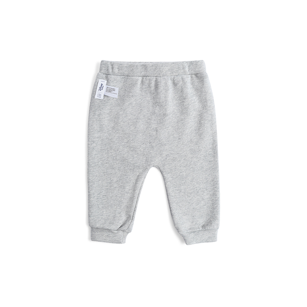 Gap女嬰兒 Disney迪士尼系列鬆緊腰針織褲長褲 497607-麻灰色
