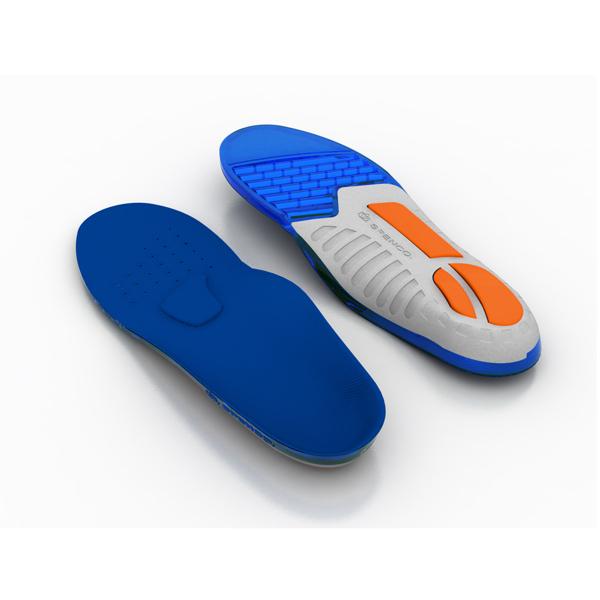 (C2) SPENCO 運動鞋墊 足弓支撐防護系列 矽膠緩衝避震款 足底筋膜炎 SI46-300 [陽光樂活]