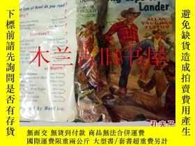 二手書博民逛書店英文外文原版罕見Long Lope to Lander ALLA