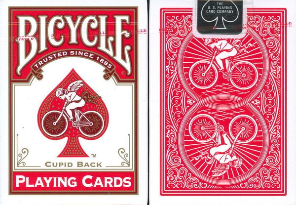 【USPCC 撲克】BICYCLE 808 Historic design牌 紅CUPID back