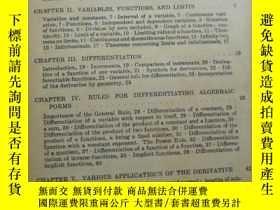 二手書博民逛書店CALCULUS(微積分學)英文原版罕見孤本Y109818