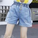 女童短褲 兒童牛仔短褲夏季裝男童短褲寶寶外穿女童牛仔短褲小孩短熱褲薄款 小宅女