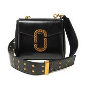 【O-ni O-ni】真皮新款韓版牛皮包女士小方包造型斜跨單肩包LC-9105-黑色