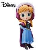 淺色款【日本正版】Q posket 安娜 公仔 冰雪奇緣 Anna 模型 迪士尼 萬普 Banpresto - 355055